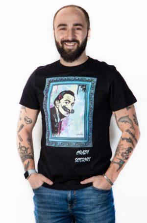 Unisex Tričko Crazy Scissors Salvador Dalí