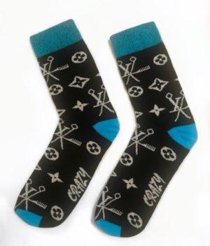 Ponožky Crazy Scissors 2 páry